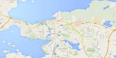 Map of tampere Finland